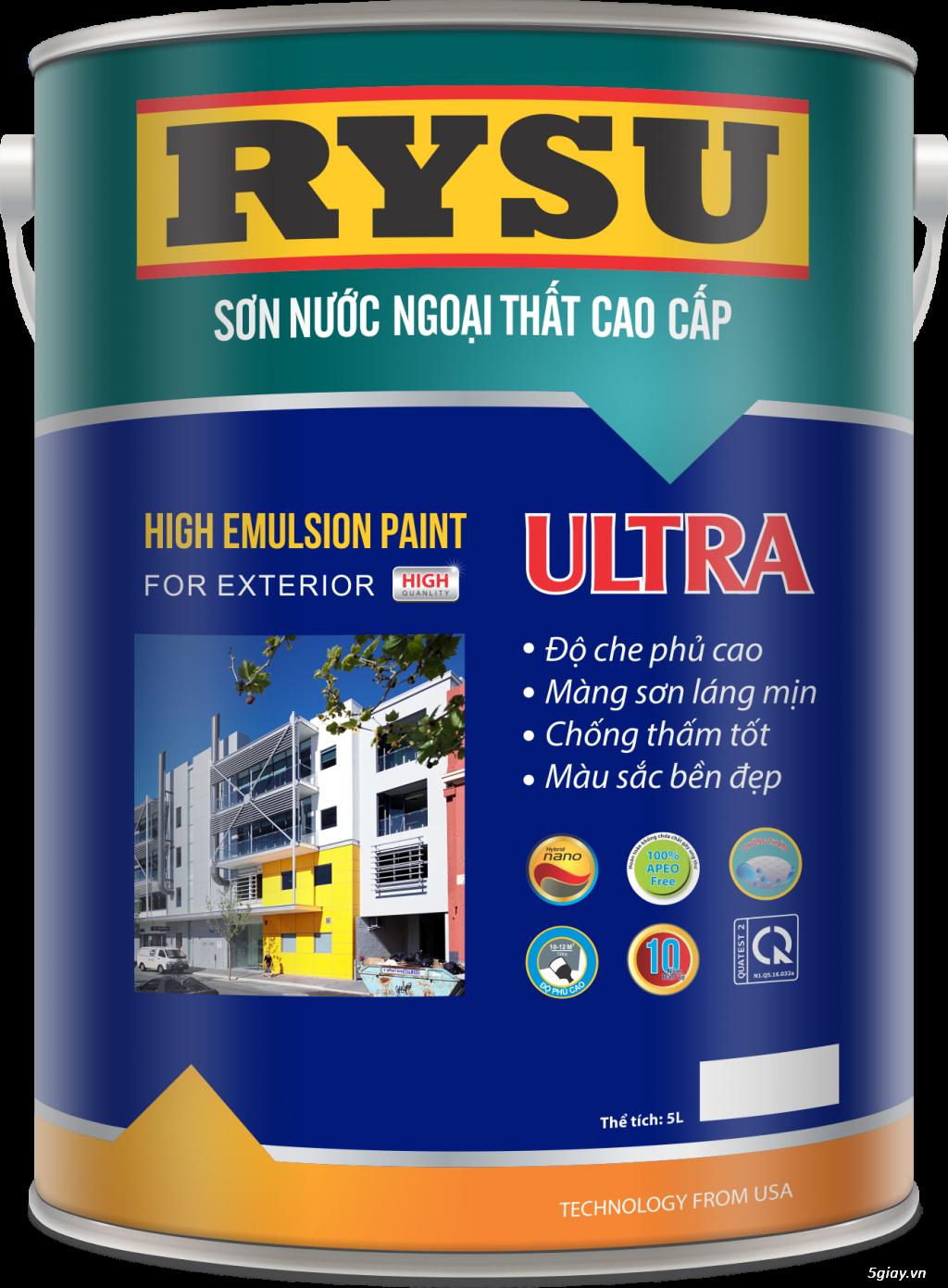 sơn RYSU có tốt không, chiết khấu hấp dẫn cuối năm - 14