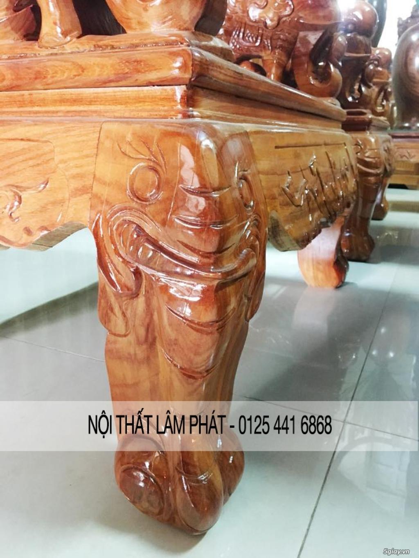 Bàn thờ,tủ thờ,sập thờ gỗ Hương Đỏ, Gụ,Lim các loại,Kích thước bàn thờ - 7