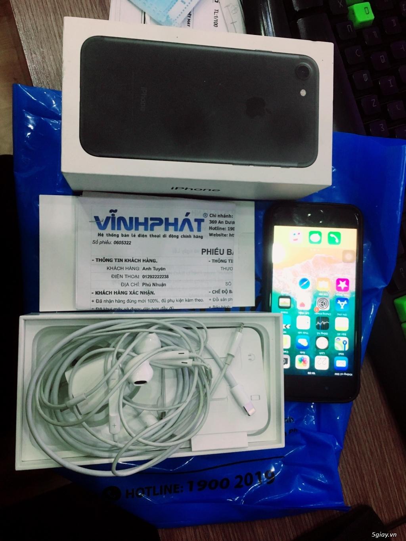 BÁN IPHONE7 QT 32 GB ĐEN NHÁM