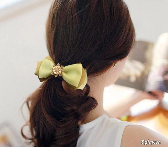 Bỏ sỉ cột kẹp tóc các loại cho mẹ và bé - 15