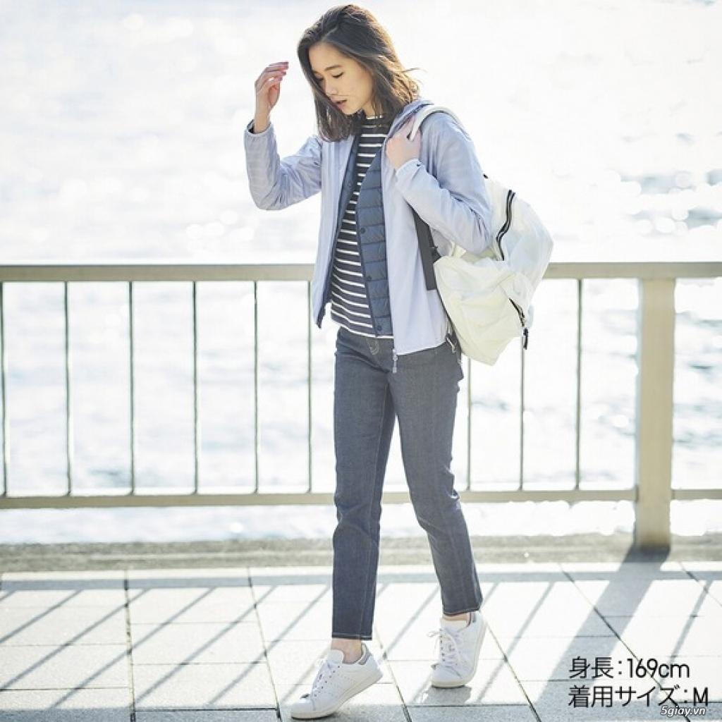 Áo chống nắng Uniqlo xuất Nhật siêu mỏng nhẹ tiện lợi
