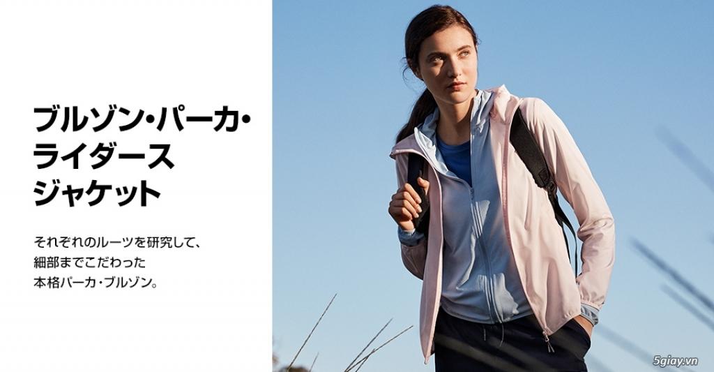 Áo chống nắng Uniqlo xuất Nhật siêu mỏng nhẹ tiện lợi - 12