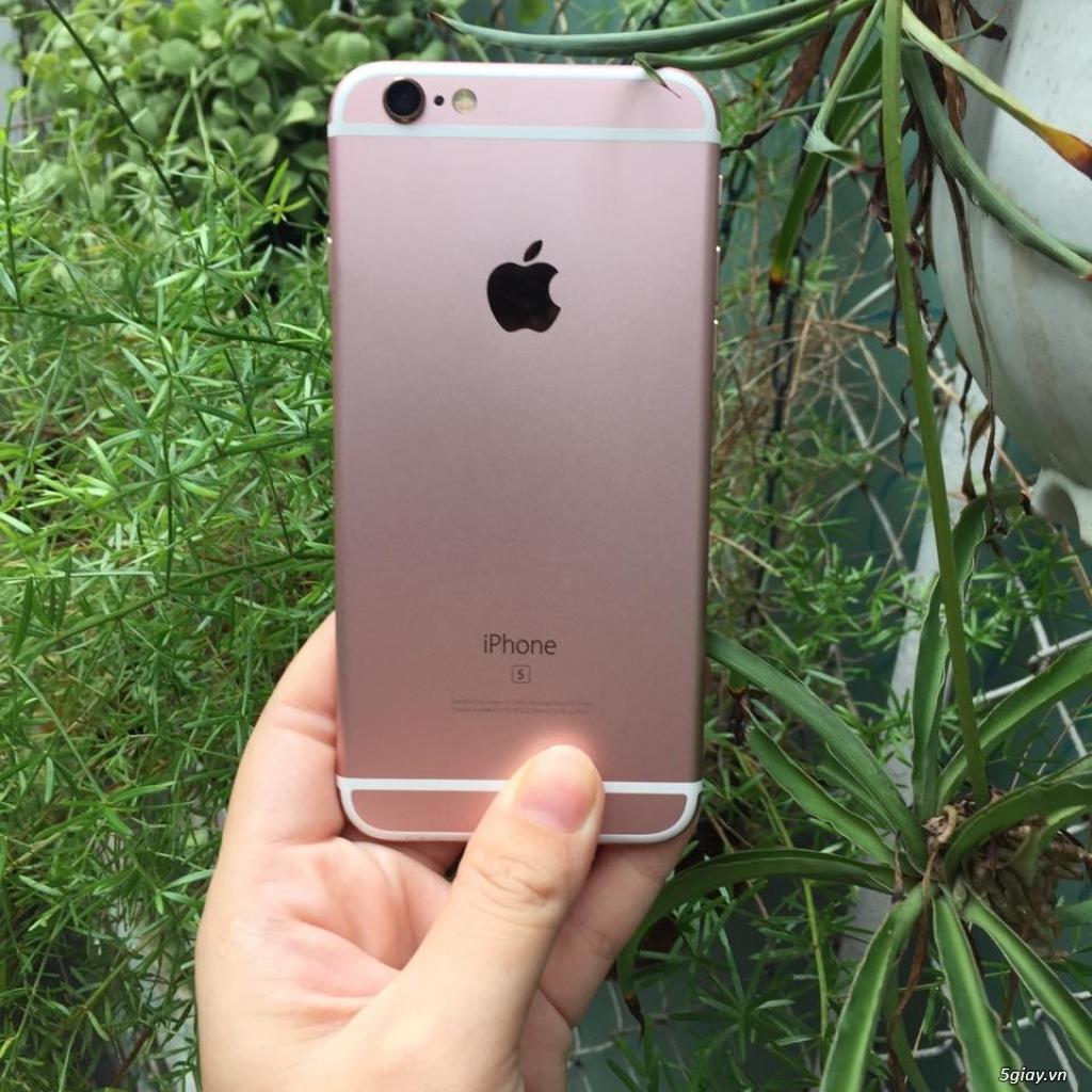 iphone 6s hồng quốc tế zin 100% hàng mỹ nữ xài kỹ - 4