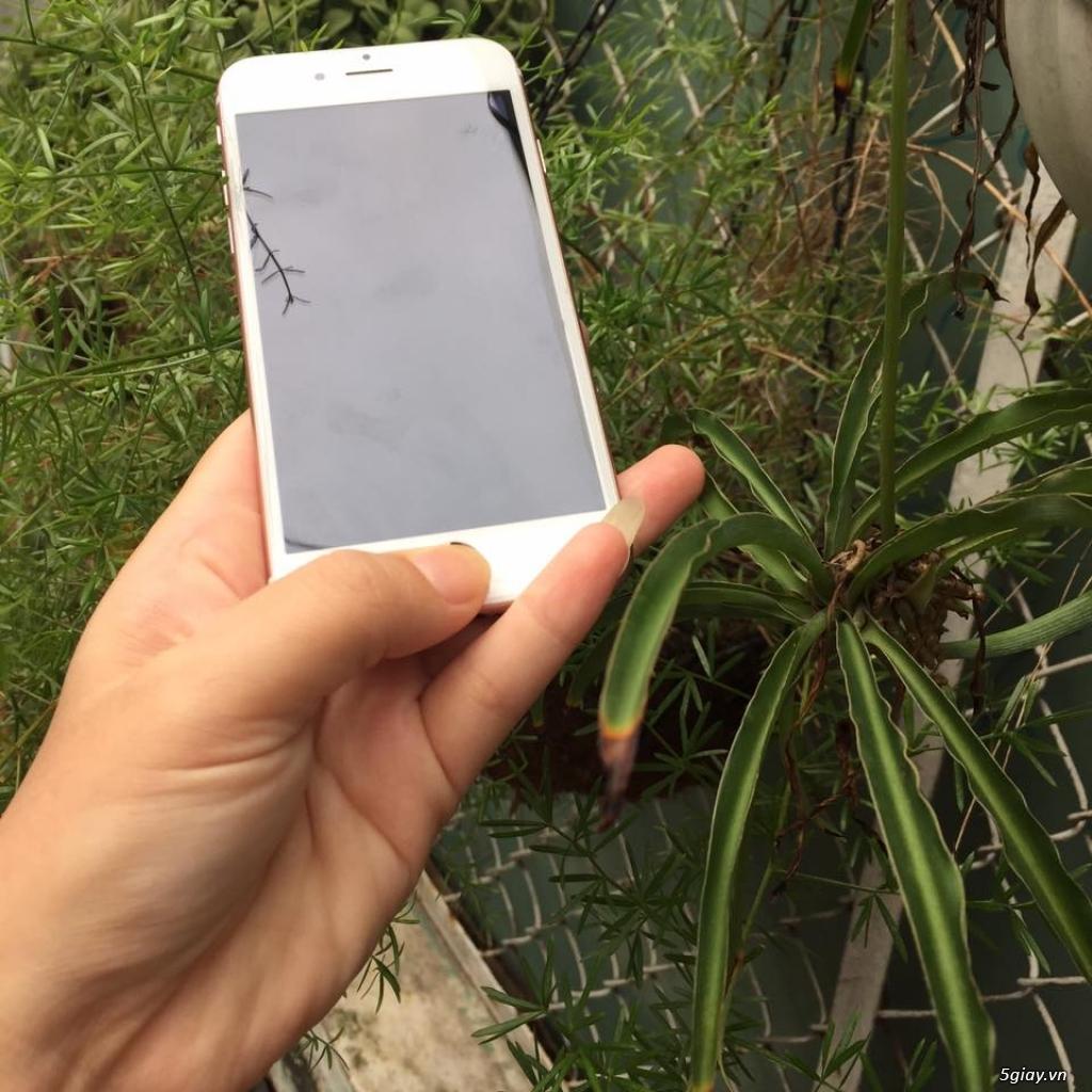 iphone 6s hồng quốc tế zin 100% hàng mỹ nữ xài kỹ