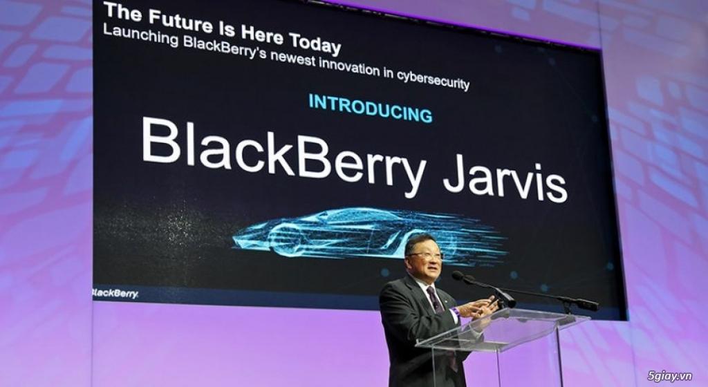 Blackberry chuyển hướng đầu tư sang IoT - 219851
