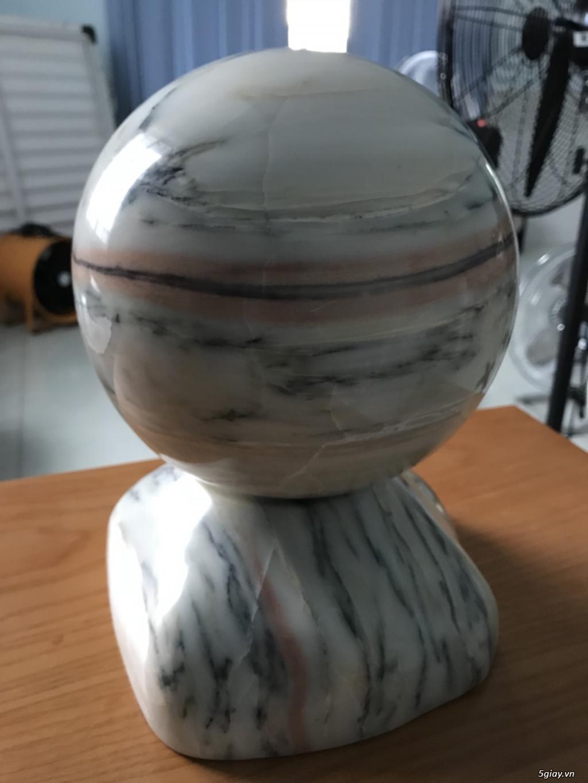 Dư bán trái cầu đá tự nhiên pentin - 3