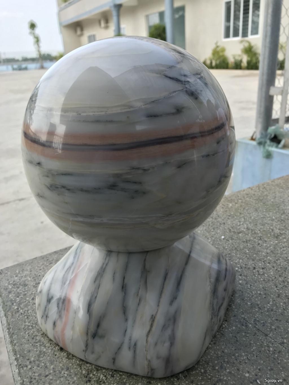 Dư bán trái cầu đá tự nhiên pentin - 2
