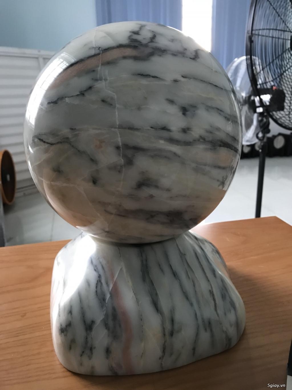 Dư bán trái cầu đá tự nhiên pentin - 1