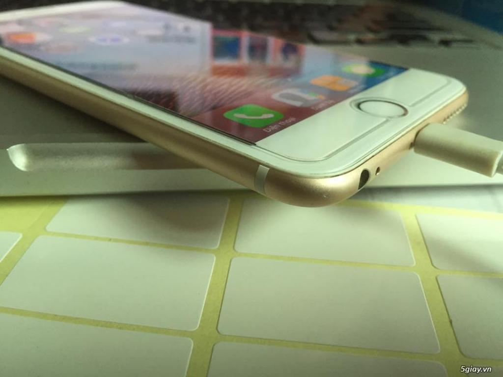 Cần bán iPhone 6plus lock 64g màu gold