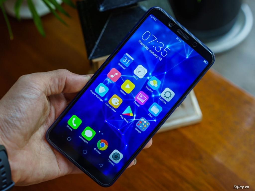 Ra mắt Oppo F5 phiên bản xanh thạch anh - 220189