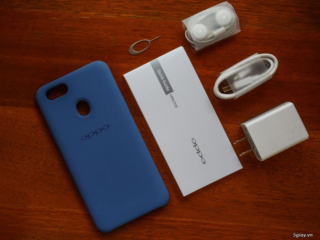 Ra mắt Oppo F5 phiên bản xanh thạch anh - 220191