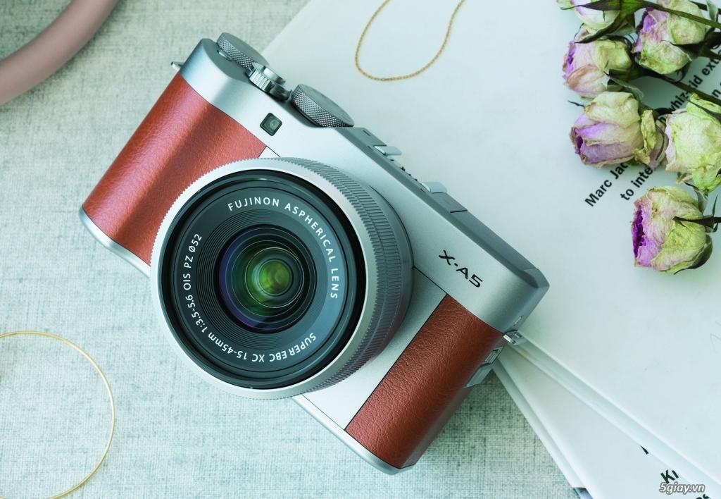 Fujifilm X-A5 máy ảnh chuyên selfie cho phụ nữ giá 14 triệu đồng - 220380