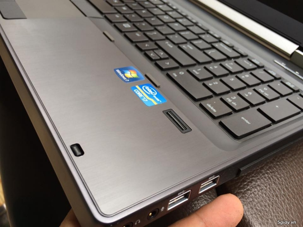 Dell Precision M4800 Core I7 4800QM, Ram 8G, SSHD 500G Máy Mới 99% - 24