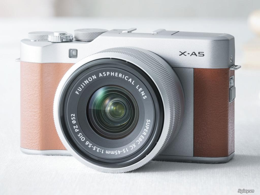 Fujifilm X-A5 máy ảnh chuyên selfie cho phụ nữ giá 14 triệu đồng - 220379