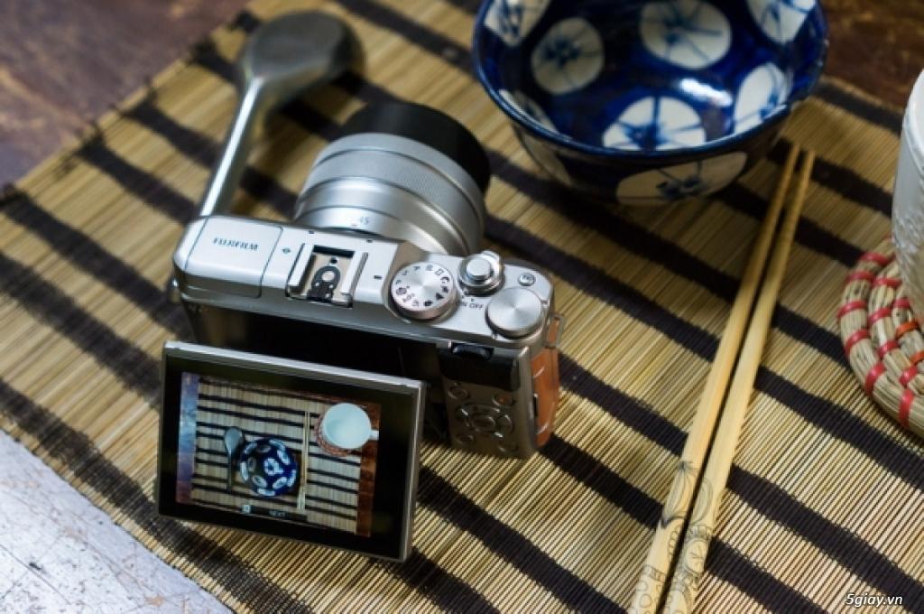 Khám phá máy ảnh Fujifilm X-A5 - 220328