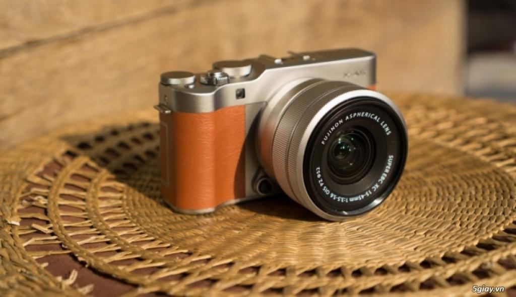 Khám phá máy ảnh Fujifilm X-A5 - 220334