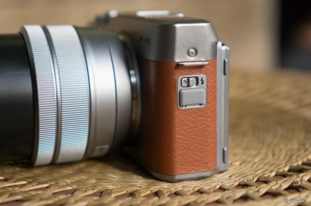 Khám phá máy ảnh Fujifilm X-A5 - 220330