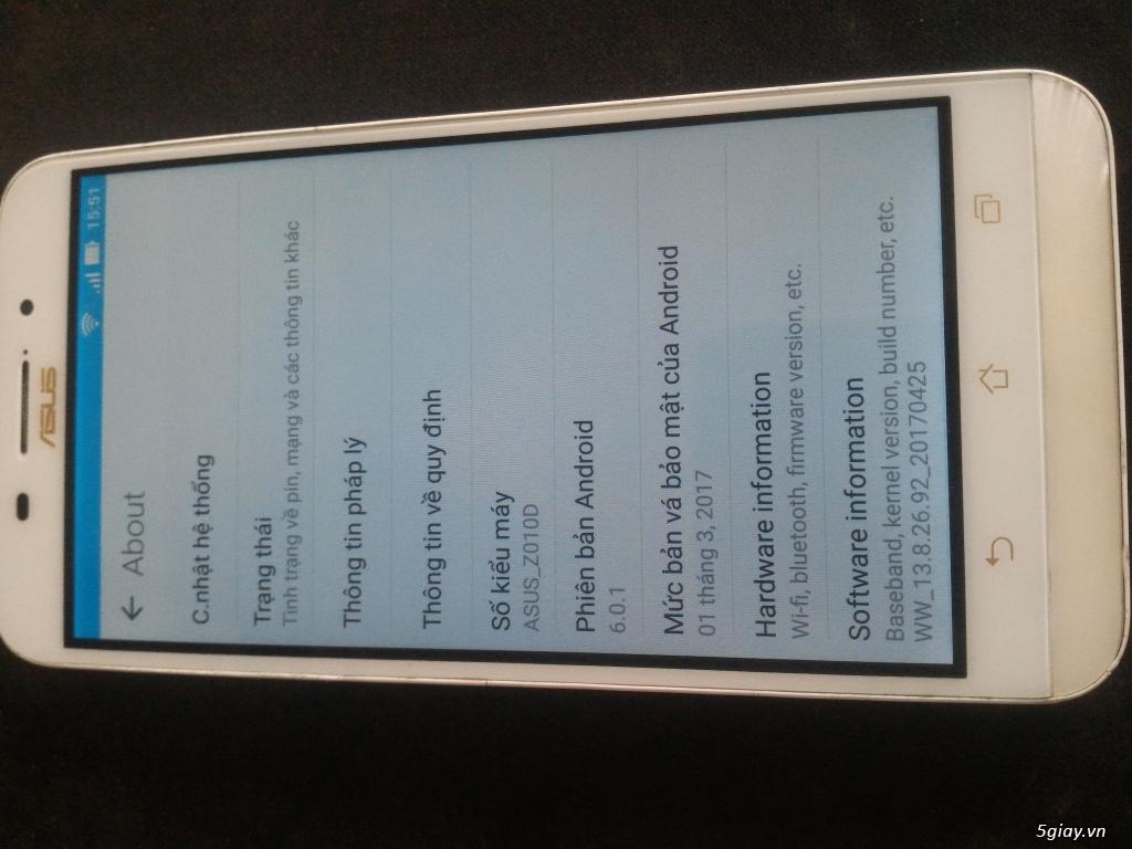 HCM- Bình Dương ZENFONE MAX PIN 5000MA/5.5INCH/2GB/16GB GIÁ RẺ NHẤT - 2