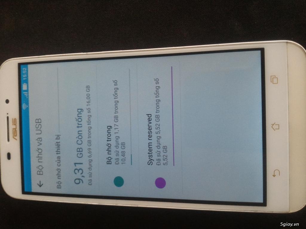 HCM- Bình Dương ZENFONE MAX PIN 5000MA/5.5INCH/2GB/16GB GIÁ RẺ NHẤT - 3