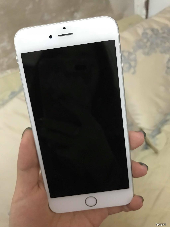 Iphone 6 Plus 128GB Quốc tế Mỹ Silver mất vân tay hình thức cực đẹp - 3