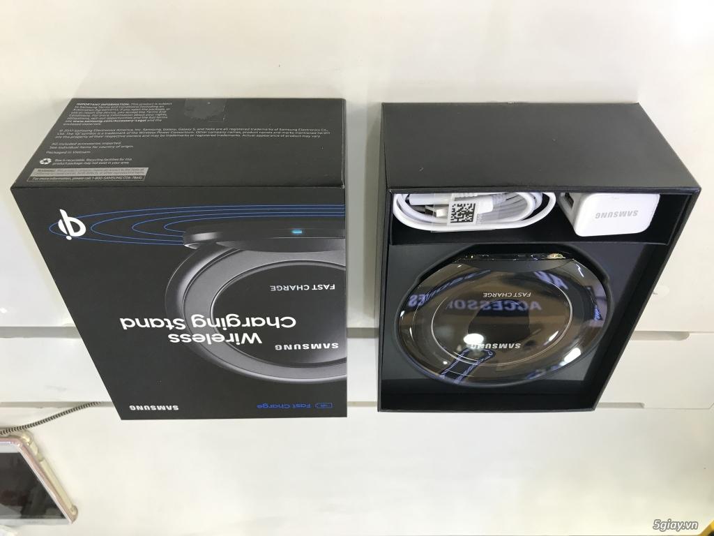 Đế sạc không dây Samsung Fast Charge chính hãng cho iphone X, Note 8 và các smartphone hổ trợ Qi - 2