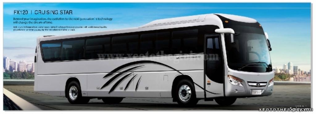 Hỗ trợ mua trả góp 80% xe khách Daewoo FX120- 47 chỗ. TT 850TR- Giao x