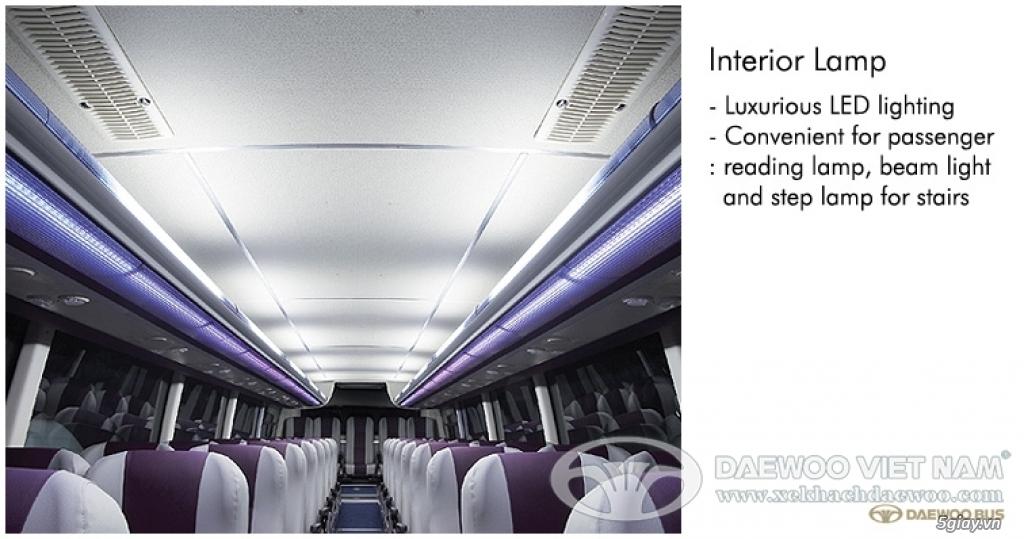 Hỗ trợ mua trả góp 80% xe khách Daewoo FX120- 47 chỗ. TT 850TR- Giao x - 4