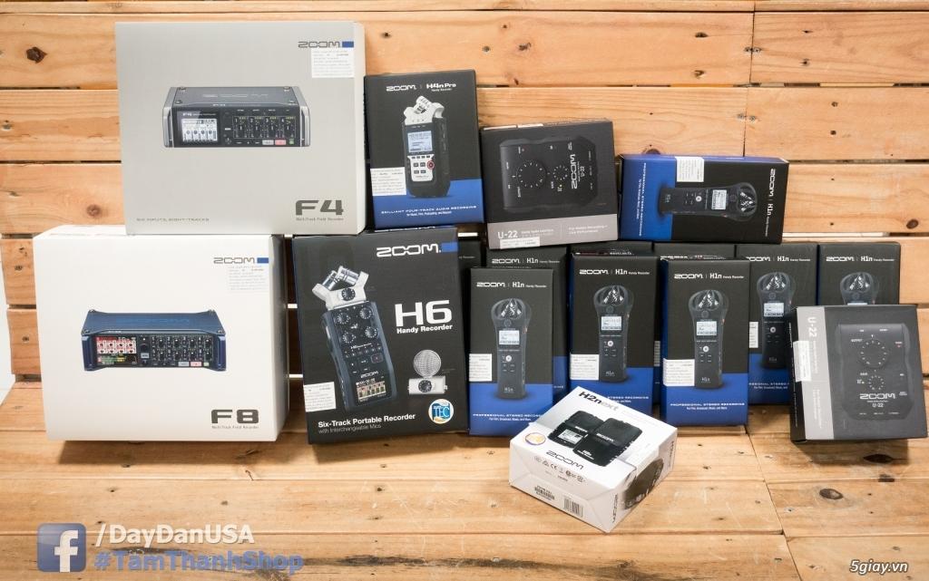 Máy ghi âm Zoom h1n mới 100% chính hãng giá rẻ - 3