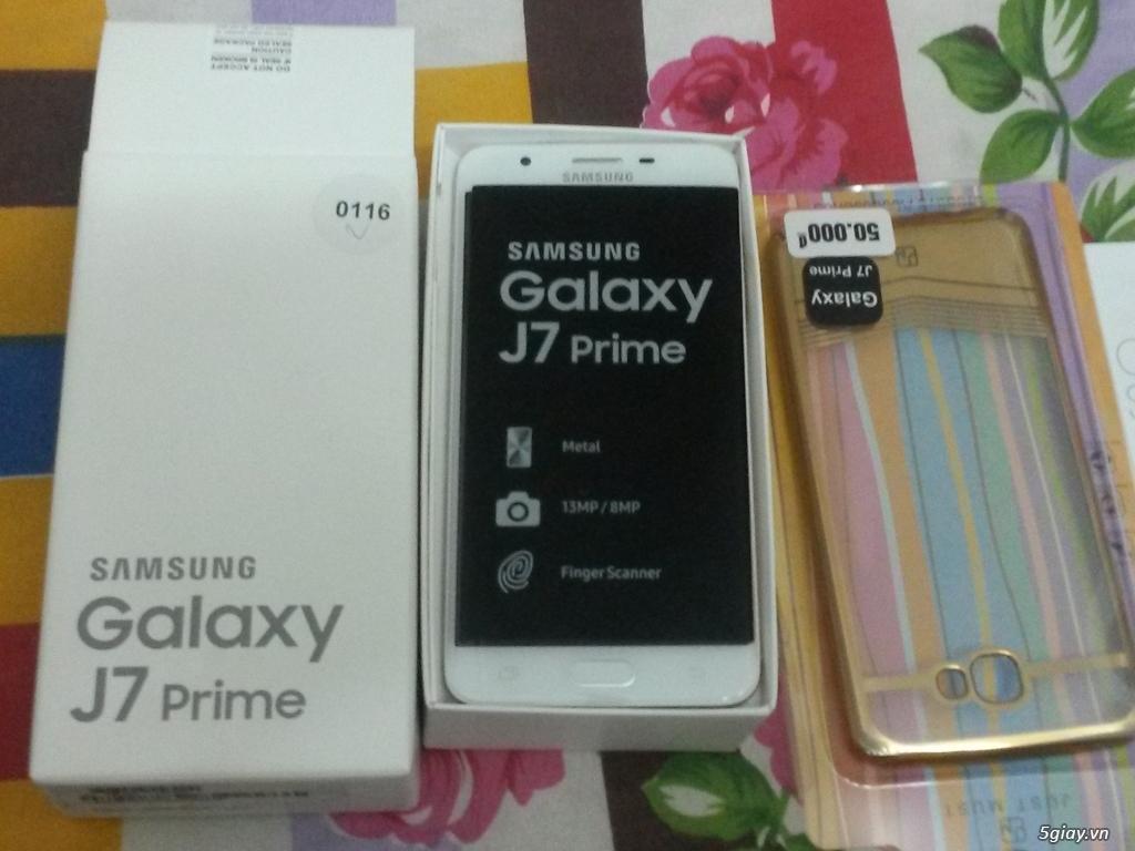 Bán ĐT Samsung J7 Prime mới 100 % nguyên hộp giá rẻ