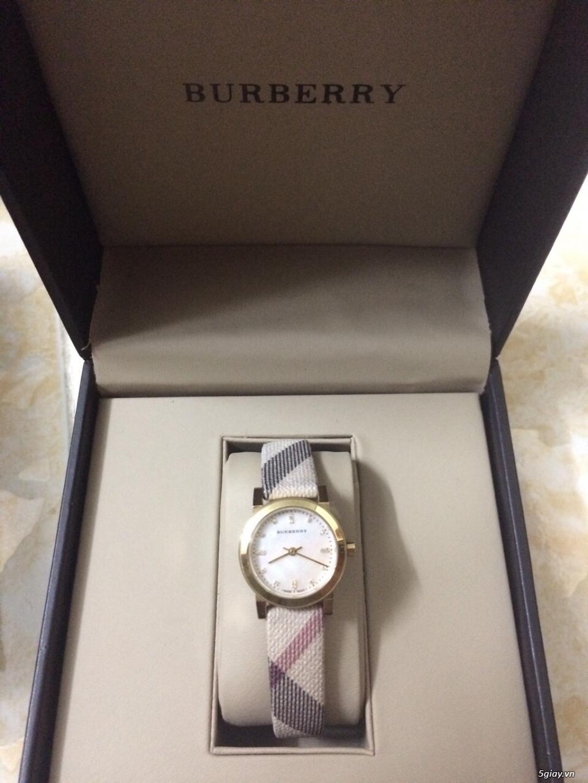 Cần thanh lý 1 em watch burberry BU 9226 với giá rẻ ,hàng full box mỹ