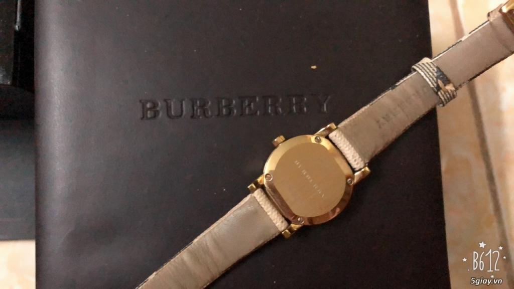 Cần thanh lý 1 em watch burberry BU 9226 với giá rẻ ,hàng full box mỹ - 2