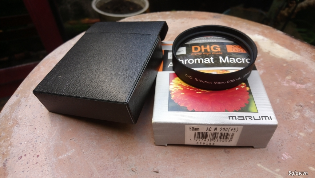 filter closeup Marumi DHG Achromat 200 58mm - Mới 80%
