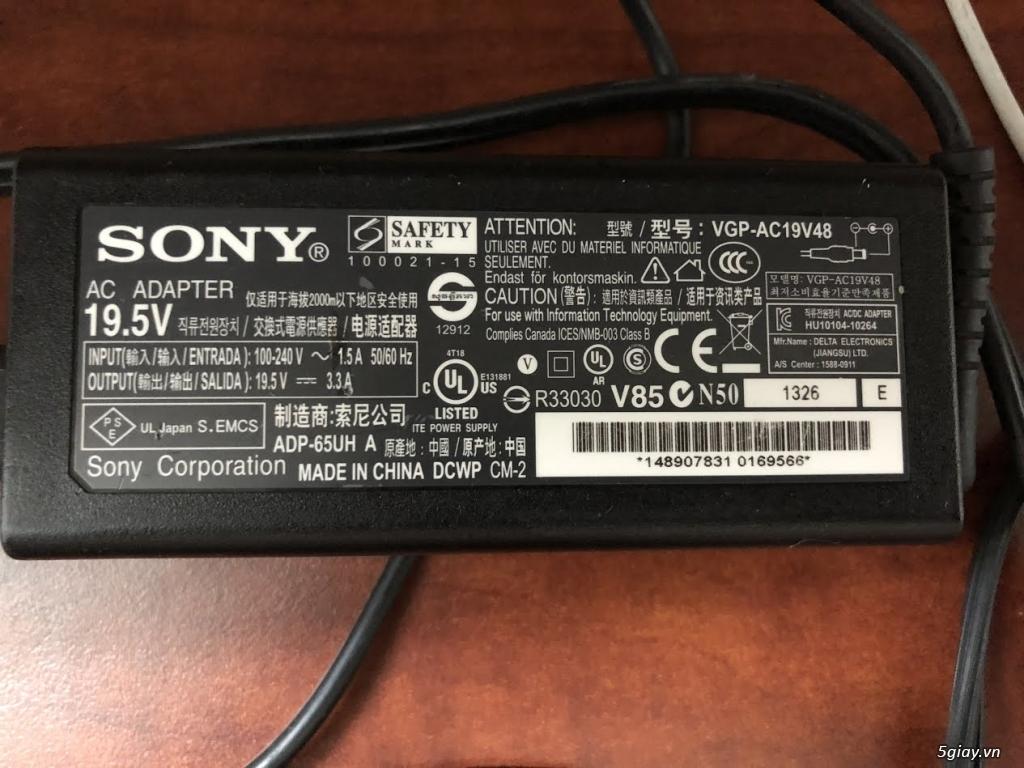 Sạc laptop zin đủ loại sony vaio - dell- hp - acer - lenovo ibm...