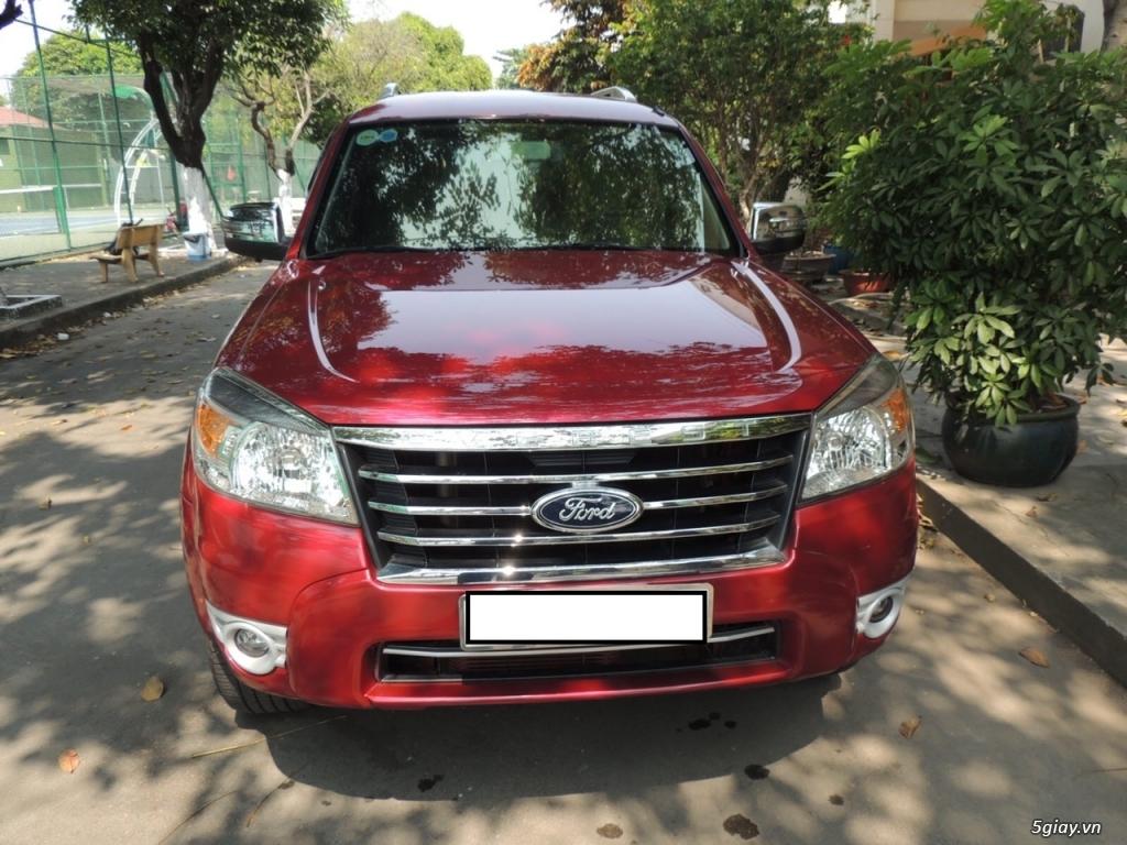 Ford Everest date 12/2012 2.5 MT máy dầu, màu đỏ - 2