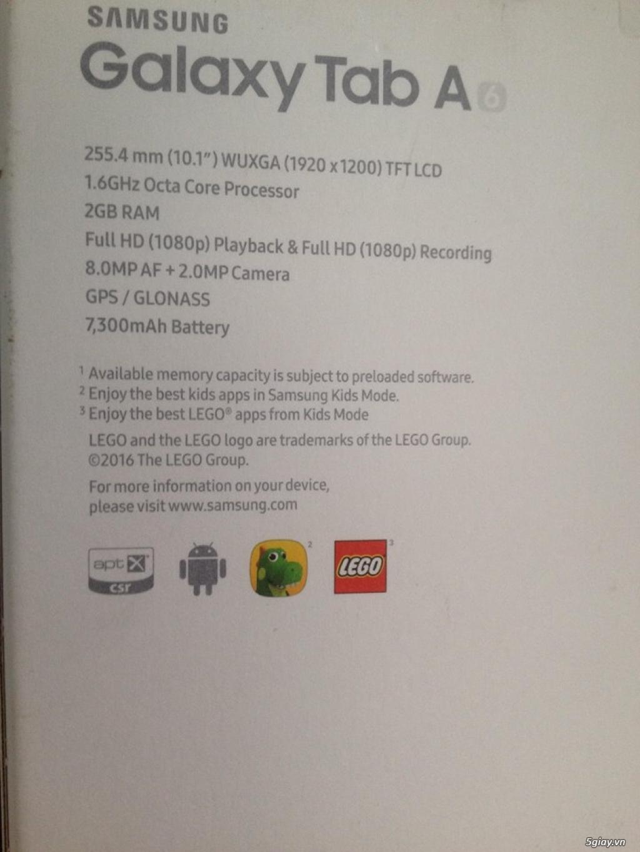 Máy tính bảng Sam Sung Galaxy Tab A6 - 2