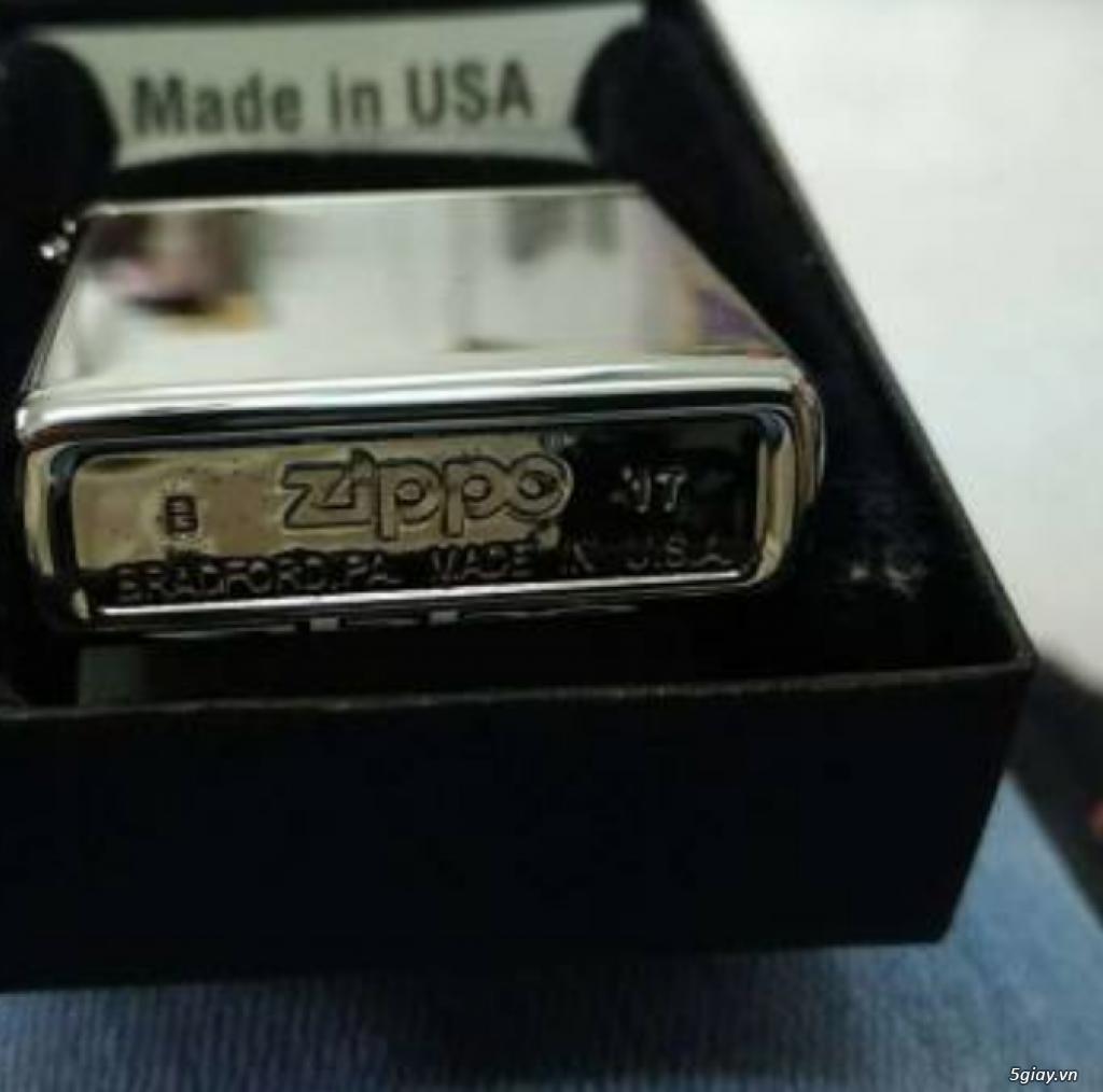 Zippo chính hãng Mỹ bảo hành trọn đời giá 350k - 4