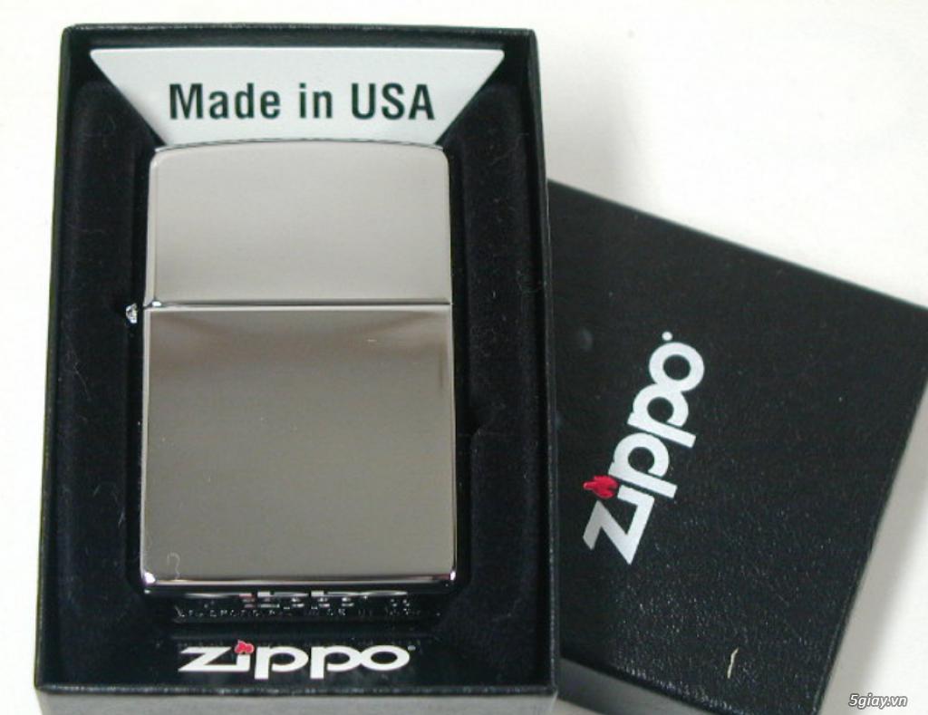Zippo chính hãng Mỹ bảo hành trọn đời giá 350k - 2