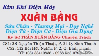 Kim khí điện máy Xuân Bằng : chuyên sửa chữa thiết bị Điện Tử - Điện Gia Dụng - 19
