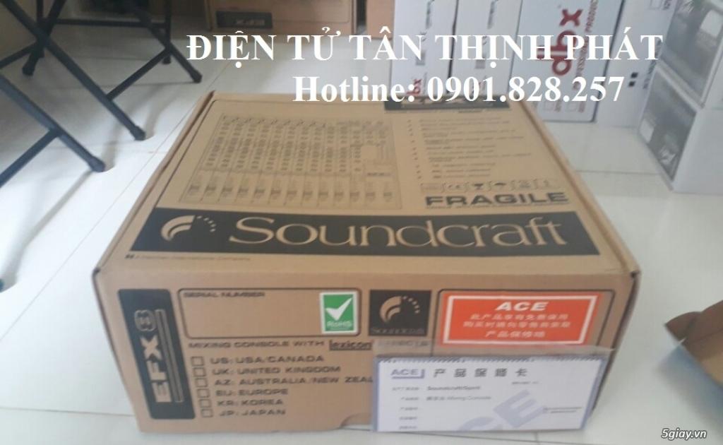 bán mixer soundcraft efx8