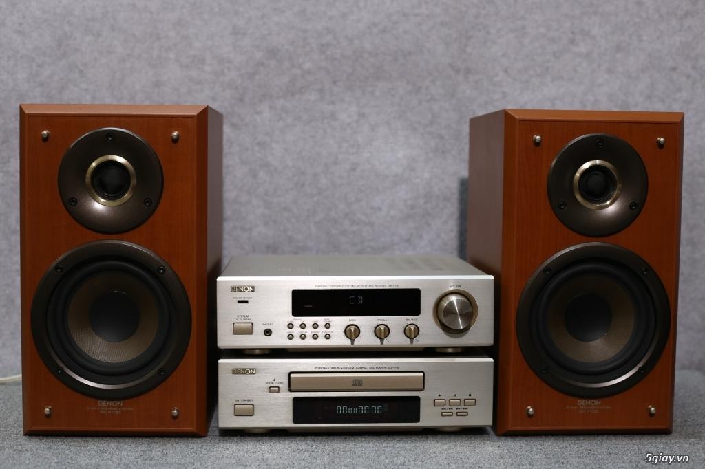 Máy nghe nhạc MINI Nhật đủ các hiệu: Denon, Onkyo, Pioneer, Sony, Sansui, Kenwood - 38