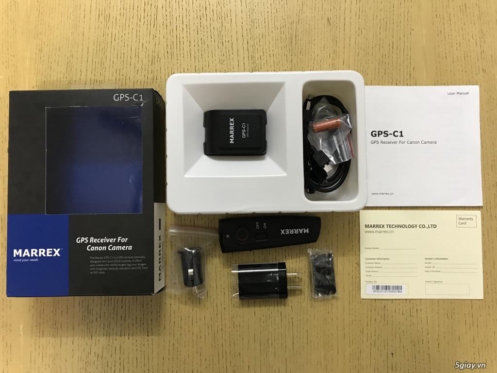 HCM - Bán MARREX GPS-C1 - Thiết bị nhận GPS cho Canon Dslr