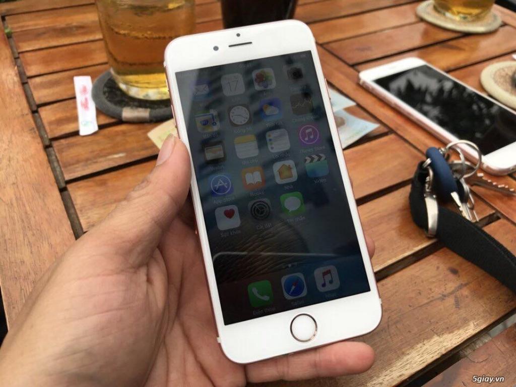 Iphone 6s 16G Rose Gold đẹp chợ tốt zin 100% với giá chỉ bằng 50% TGDĐ - 3