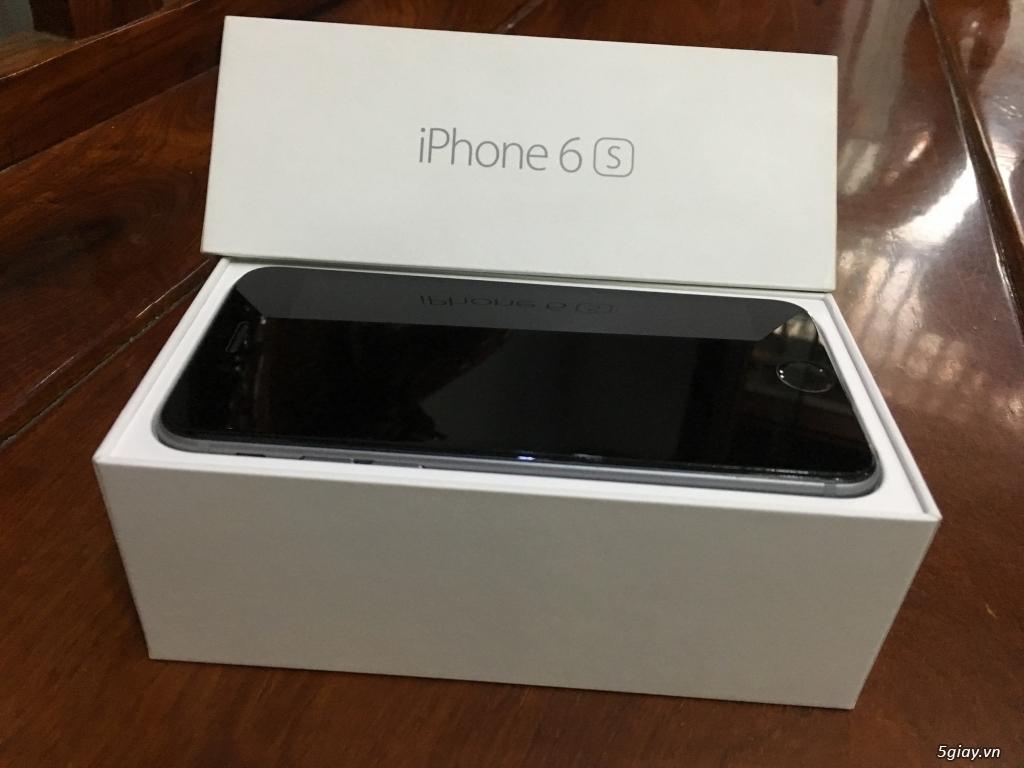 Bán 1 iPhone 6S 64G Grey Máy Quốc Tế Đẹp Như Mới FullBox ZinAll - 1