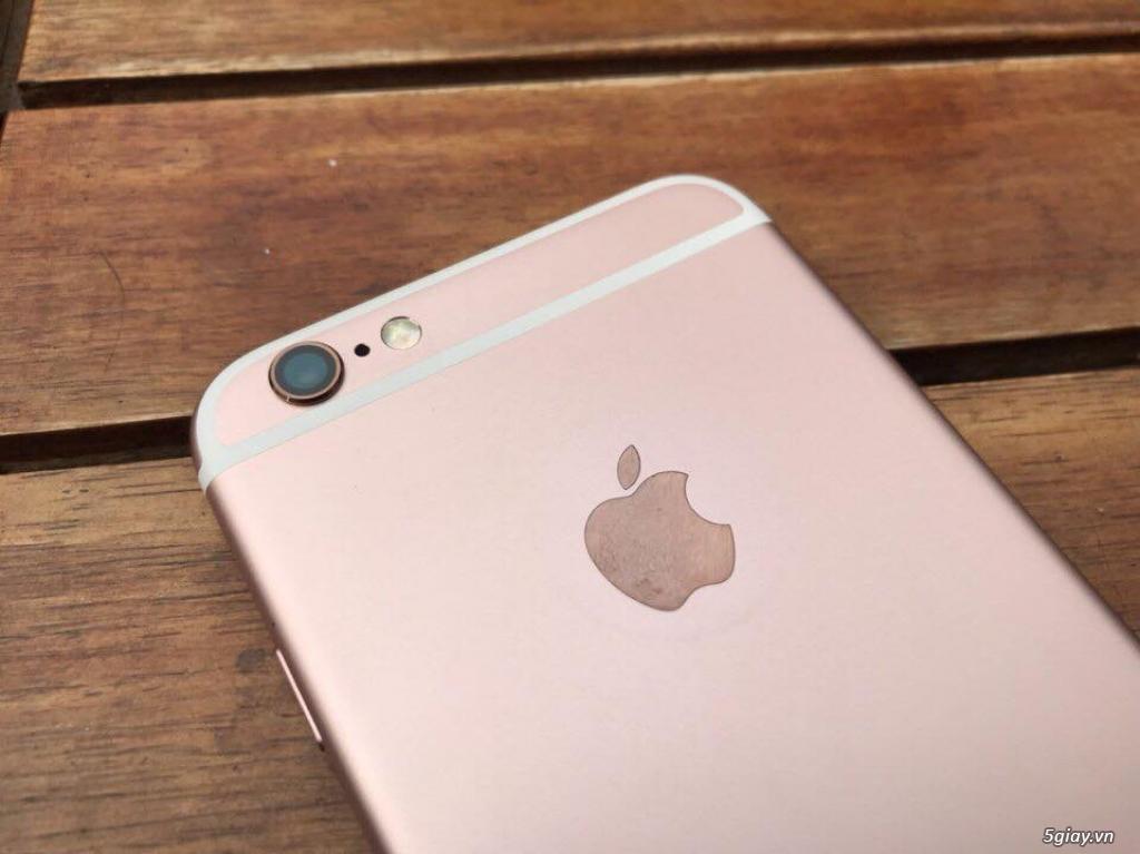 Iphone 6s 16G Rose Gold đẹp chợ tốt zin 100% với giá chỉ bằng 50% TGDĐ