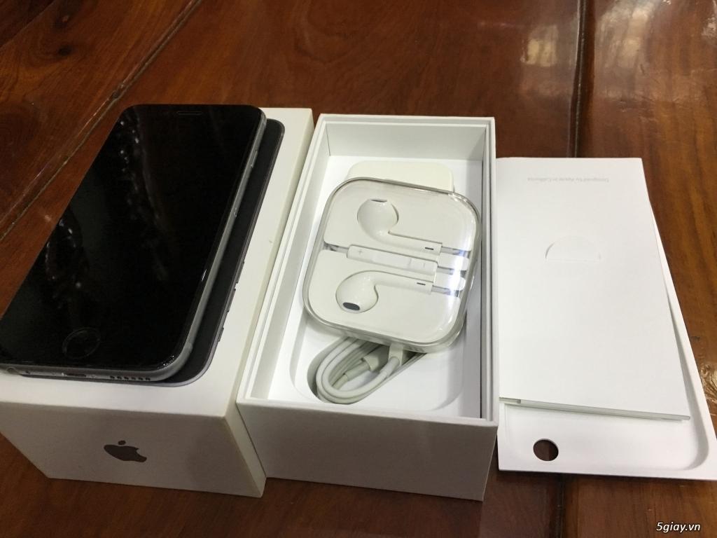 Bán 1 iPhone 6S 64G Grey Máy Quốc Tế Đẹp Như Mới FullBox ZinAll - 5