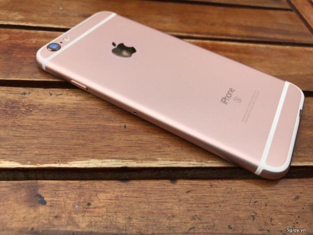 Iphone 6s 16G Rose Gold đẹp chợ tốt zin 100% với giá chỉ bằng 50% TGDĐ - 1