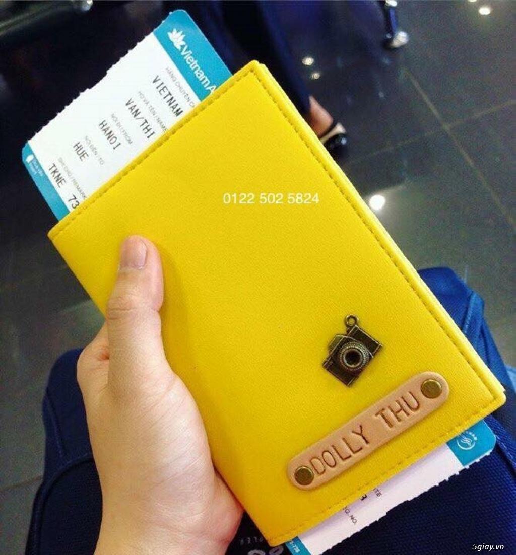 Vỏ bảo vệ Hộ Chiếu ( Passport cover, Passport Holder ) cực độc - 4