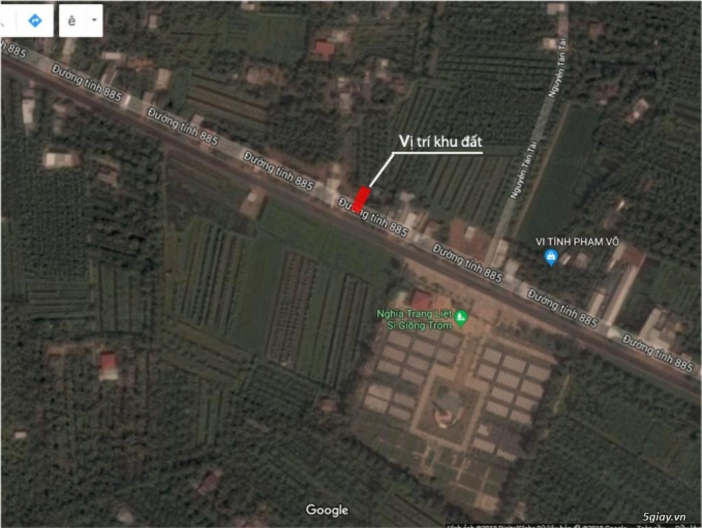 Cho thuê đất - mặt tiền Đường Tỉnh 885, tỉnh Bến Tre. - 2