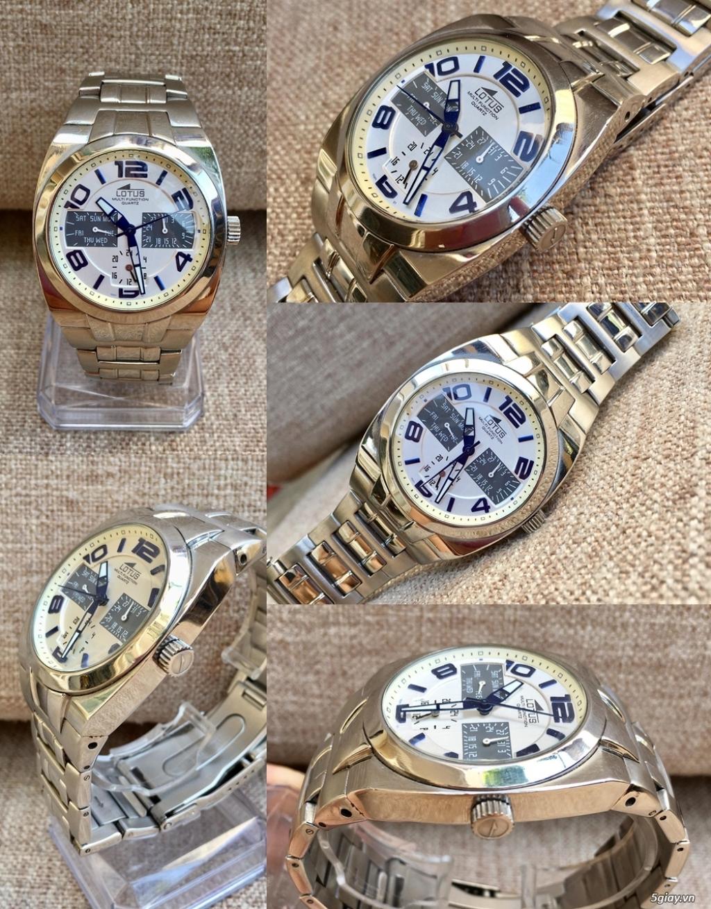 Kho đồng hồ  chính hãng secondhand update liên tục - 38