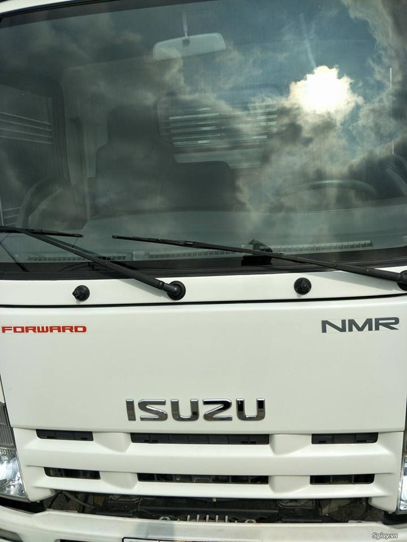 xe tải isuzu NMR 1t9 thùng kín inox đời 2015 - 1